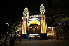 Luna Park (-Giep-) Tags: sydney sydneyharbour lunapark gideonmalherbephotography