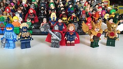 DC Characters: It takes two (-{Peppersalt}-) Tags: blue woman comics wonder gold dc lego steel beetle superman batman characters supergirl booster hawkgirl hawkman minifigues