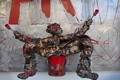 Peintre de Signe (skipmoore) Tags: france art monkey paint artist painter barbizon
