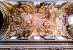 Volta di S. Ignazio (f_Random) Tags: italy rome roma church architecture it ceiling fujifilm architettura volta trompeloeil lazio xseries 500px fujifilmxseries