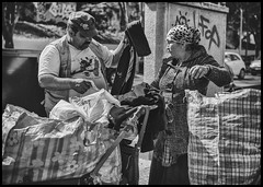 street sale (Lukas_R.) Tags: street leica city travel cruise people bw costa france marseille sale 28mm q pacifica f17 typ116