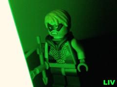 Arrow (ollidalpe) Tags: green lego arrow dccomics greenarrow oliverqueen