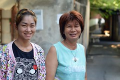 mother and daughter (the foreign photographer - ) Tags: two portraits thailand nikon women bangkok daughter mother bang bua khlong bangkhen d3200 may72016nikon