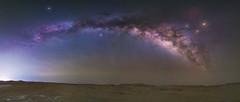 Milky Way Panorama (Waheed Akhtar Photography) Tags: nightphotography travel sky night nightscape desert sony uae galaxy abudhabi abu dhabi unitedarabemirates nightscapes milkyway rubalkhali razeen nightstars milkywaygalaxy a7s milkywayphotography waheedakhtar sonya7s exploreuae