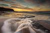 Rocky recovery (Mike Hankey.) Tags: seascape colour sunrise focus published lowtide turimetta