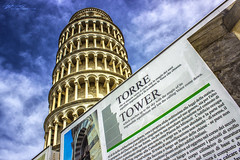 Leaning Tower of Pisa (Sophie Louise Cowdrey) Tags: travel italy travelling monument architecture ancient europe italia famous architectural pisa leaningtowerofpisa travelphotography