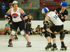 IMG_0451 (clay53012) Tags: ice team track flat arena madison skate roller jam derby league jammer mrd bout flat wftda derby womens track hartmeyer moocon2016