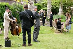 Morley Jazz Band (jonnydredge) Tags: london nikon exhibitions va textiles pv morley privateview inspiredby arttextiles morleygallery moderneccentrics