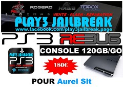 Aurel Slt (play3jailbreak) Tags: france slim relay dex commander slt play3 mondial jailbreak manette ps3 aurel 475 120gb achat envoi acheter rebug