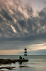 (Glen Parry Photography) Tags: ocean longexposure sea sky lighthouse beach water wales clouds nikon rocks sigma blackpoint anglesey northwales sigma1020mm penmon d7000 glenparryphotography