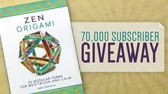 Zen Origami Giveaway! (EZ Origami) Tags: origami maria giveaway zen ez 70k subscribers ezorigami sinayskaya