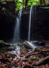 falls frontal (david_sharo) Tags: longexposure nature water forest landscape woodlands neutraldensityfilter davidsharo