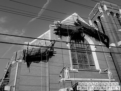 365 days/365 photos. The wires of renovation. 126/365 (Douglas Duerring Photography) Tags: canon project pittsburgh 365 6d duerringphoto