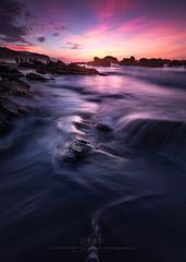 My feet (agapicture) Tags: blue light red sky seascape beach sunshine clouds sunrise landscape rocks stones