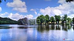 Lac de Warfaaz - Spa (BE) - 02 (Ld\/) Tags: blue summer lake flickr belgium belgique belgie ardennen ardennes belgian t spa 2016 warfaaz