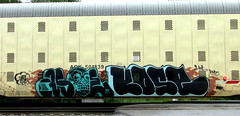 asoe - kose (timetomakethepasta) Tags: asoe kose cik htf kyt upsk freight train graffiti art aok autorack