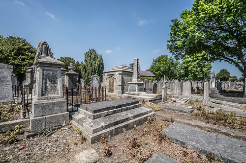 MOUNT JEROME CEMETERY AND CREMATORIUM IN HAROLD'S CROSS [SONY A7RM2 WITH VOIGTLANDER 15mm LENS]-117091