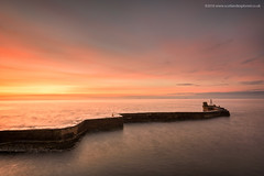 Sun Arise (Damon Finlay) Tags: longexposure seascape st sunrise coast scotland nikon long exposure colours fife earlymorning forth d750 nikkor zig f4 firth breakwater zag firthofforth stmonans 1635mm monans nikkor1635mmf4 nikond750 zigzagbreakwater