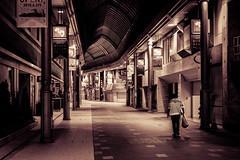 Night. (Peapotty) Tags: street japan night 35mm lowlight fuji fujifilm f2 fujinon xf fukuokaken xt1 kurumeshi