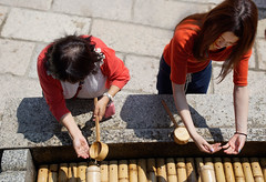 Hand Washing Ritual (pons5607_3) Tags: hand washing ritual japan sony ilca77m2 temple shrine water photography 日本 slta77v