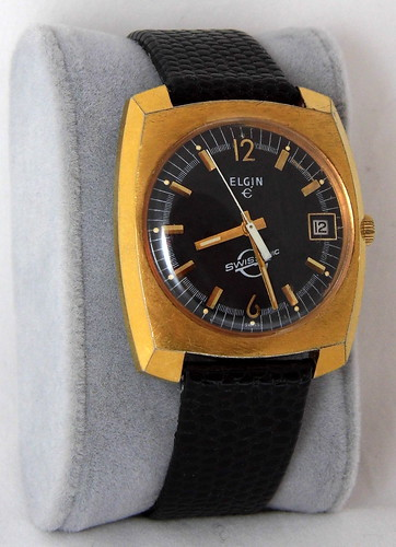 vintageelectronicwatch 1970selectronicwatch vintageelginswissonicelectronicwatch