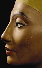 Ancient Egyp. Nefertiti (ca. 1370 BC  ca. 1330 BC) was the Great Royal Wife (chief consort) of the Egyptian Pharaoh Akhenaten. (mike catalonian) Tags: pharaoh nefertiti akhenaten ancientegypt 1370bc 1330bc xivcenturybc