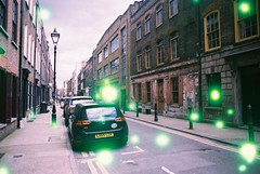 Princelet Street (Volvox) (goodfella2459) Tags: street colour london film analog 35mm nikon f65 200 whitechapel milf spitalfields specialty volvox c41 princelet revolog