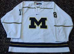 David Moss (opurt2007) Tags: michigan michiganhockey universityofmichigan gameworn davidmoss david moss