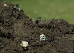 Death on the Hill (LegoLee) Tags: usa soldier us war lego military vietnam bradbury laos sog nva rtbrick