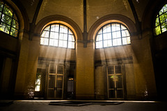 Old Bath House (--Conrad-N--) Tags: old light house abandoned window bath beelitzheilsttten beelitz heilsttten go2know