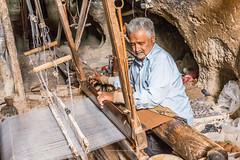 Iran - Mullah capes weavers (ciwi8) Tags: iran weavers mullah