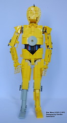 Star Wars LEGO C-3PO (KatanaZ) Tags: starwars lego c3po droids moc afol dansto
