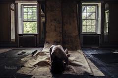 Of Space and Time (sadandbeautiful (Sarah)) Tags: windows wallpaper woman selfportrait abandoned me female self mansion delaware urbex