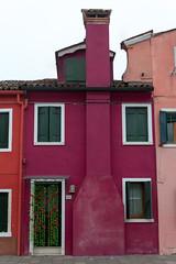 Garnet (SLpixeLS) Tags: italy italie italia venise venezia burano house maison grenat garnet frontage faade graphic graphique color couleur