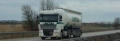 D - Schmidt >Mitra< DAF XF 105.410 SC (BonsaiTruck) Tags: truck silo lorry camion trucks 105 schmidt bulk lastwagen daf lorries lkw mitra xf spitzer citerne lastzug silozug powdertank
