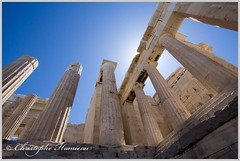 Impressioner (Christophe Hamieau) Tags: acropole acropolis antiquity athens athnes europe greece grce antic antiquit greektemple ruin ruine templegrec