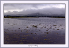 Misty morning (HEFFO1) Tags: sea water morning mist fog ballyvaughan coclare sky clouds