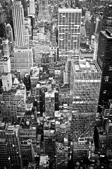 Manhattan (SinoLaZZeR) Tags: city blackandwhite bw usa newyork abstract skyline architecture us blackwhite fuji manhattan cityscapes finepix architektur fujifilm 黑白 美国 x100 纽约 都市 曼哈顿 都市风景