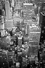 Manhattan (SinoLaZZeR) Tags: city blackandwhite bw usa newyork abstract skyline architecture us blackwhite fuji manhattan cityscapes finepix architektur fujifilm   x100