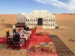 Bedouin Tent in Morocco (iExploreAdventureTravel) Tags: bedouintent bedouin saharadesert sahara morocco