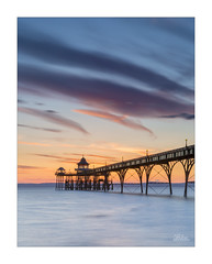 Clevedon Pleasure Pier (JRTurnerPhotography) Tags: jaketurner jrturnerphotography onedirection canon canon5dmarkiii canon5dmark3 5d3 canon24105mmf4lis leefilters leegradfilters gradfilters ndgrad picture print image photo photography photographer photograph clevedon clevedonpier pier northsomerset somerset avonsomerset southwest westcountry england uk gb unitedkingdom greatbritain britain europe coast coastline britishcoastline beach sea seaside severnsea severn riversevern severnestuary estuary bristolchannel sunset dusk spring