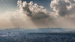 New York City (Alejandro Prez) Tags: newyorkcity clouds landscape manhattan queens canoneos5dmarkii ef2470lf28