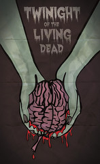 TwiNight of the Living Dead (Ashley Smith83) Tags: illustration poster twilight zombie mashup illustrator spoof vector nightofthelivingdead dawnofthedead