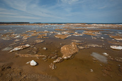 Lake Superior (jamesharv2005) Tags: lake ice water mud michigan great lakes superior dirt