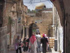 Le quartier musulman (MUQADDASI) Tags: old city architecture muslim islam jerusalem mosque arabic quarter islamic palestinian   aqsa quds   silwan                qouds  palestine