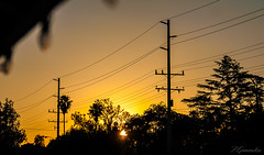 outside-3 (FGonzalezPhotography) Tags: california christmas blue sunset sky lights spring may powerlines bloomington telephonepoles sanbernardino inlandempire fgonzalezphotography