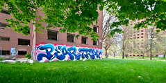Pear, Trav (TheHarshTruthOfTheCameraEye) Tags: 30 graffiti time detroit down dirty full kings pear melt msk mad trav society d30 nsf thr madsocietykings dirty30 traver detroitgraffiti n4n ftmd fulltimemeltdown