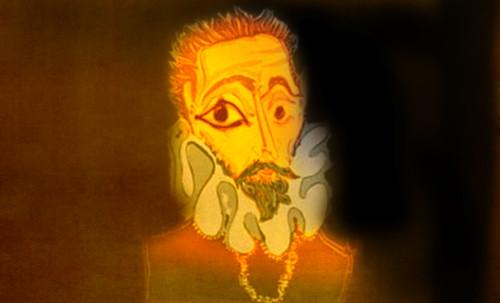 """Hidalgo Ibérico, expresión de Doménikus Theokópoulos el Greco (1597), transcripción de Pablo Picasso (1971). • <a style=""""font-size:0.8em;"""" href=""""http://www.flickr.com/photos/30735181@N00/8746814301/"""" target=""""_blank"""">View on Flickr</a>"""