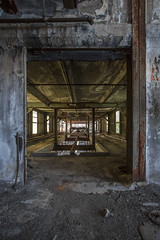 into the closed open. (stevenbley) Tags: abandoned canon newjersey rust industrial factory decay nj urbanexploration mold grime lead trespassing urbanexploring urbex 5dmkii canon5dmarkii stupidrednecks