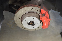 996TT front hub with RUF 7mm spacer (kfanciu) Tags: wheel porsche lip ruf spacer 996 7mm 996tt